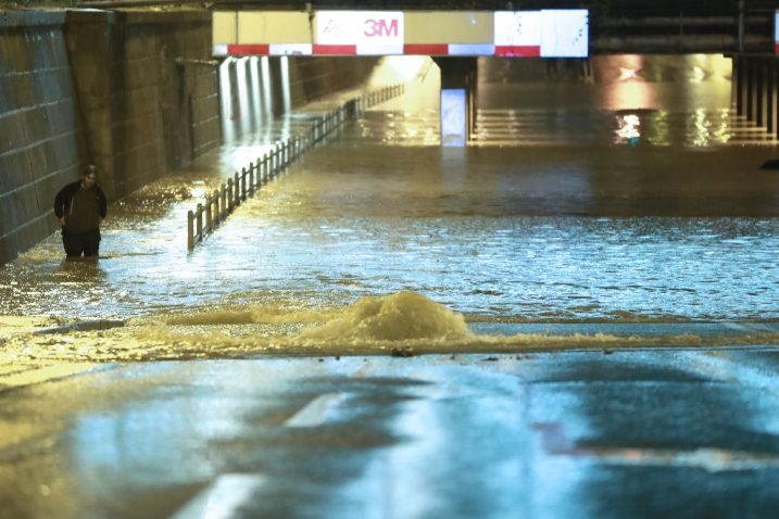 Jaka kiša izazvala je poplave po Zagrebu / Foto Sanjin Strukić, Pixsell