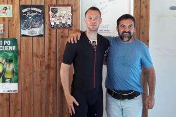 Manuel Neuer zastao je i u kafiću u blizini Omiša/Foto Dalmatinski portal