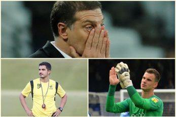 Slaven Bilić, Danilo Butorović i Simon Sluga