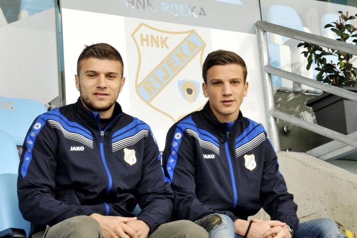 Milan Ristovski s bratom Stefanom/Foto S. JEŽINA