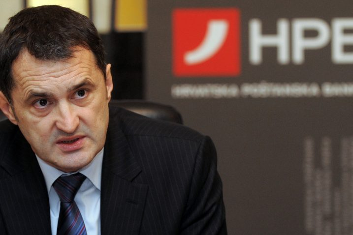 Bivši predsjednik Uprave HPB-a Čedo Maletić / Foto Darko Jelinek