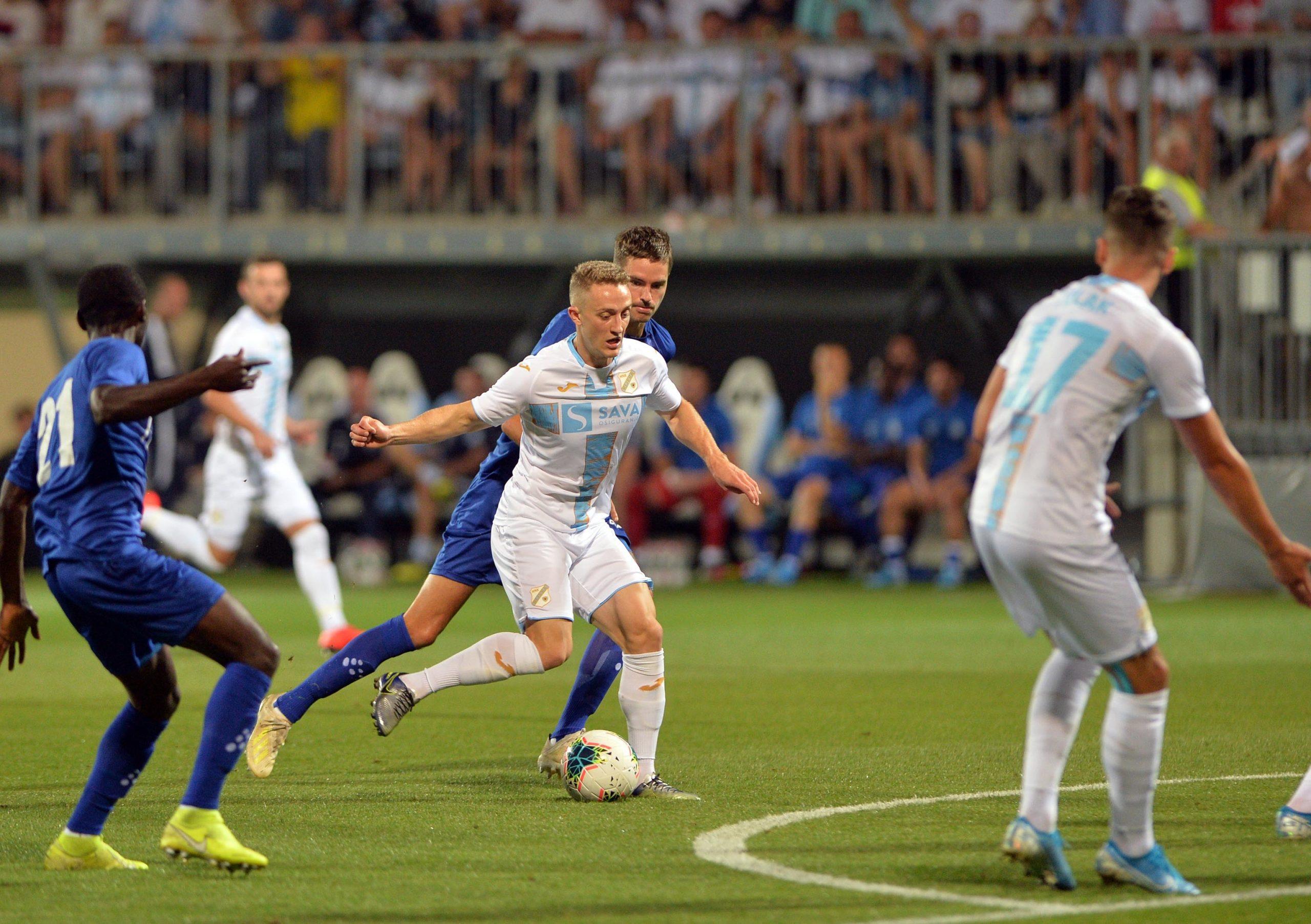 Tibor Halilović prošle sezone protiv Genta/Foto Arhiva NL