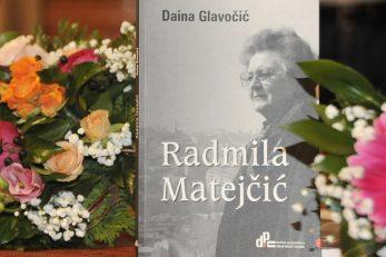 """Život u knjizi (""""Radmila Matejčić"""" Daine Glavočić) / Foto S. DRECHSLER"""