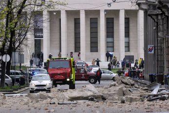 Potres u Zagrebu / Snimio Davor KOVAČEVIĆ