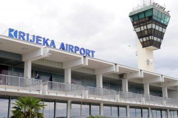 Zračna luka Rijeka u Omišlju nada se boljim danima / Foto M. GRACIN