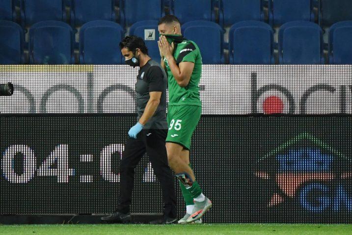 Gollini se ozlijedio na zadnjoj utakmici Atalante, protiv Intera/Foto REUTERS