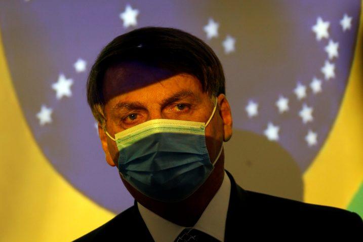 Brazilski predsjednik Jair Bolsonaro / REUTERS