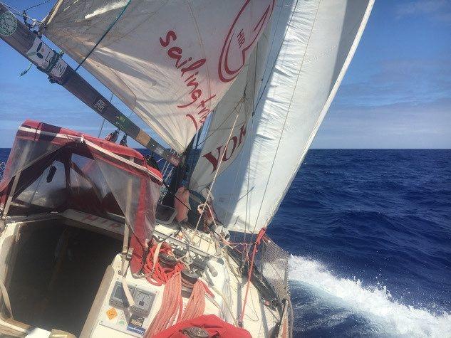 Posada jedrilice Hir 3 sretno je uplovila u luku Funchal na Madeiri