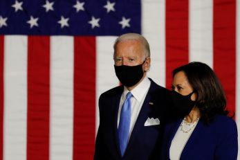 Joe Biden, Kamal Harris / REUTERS