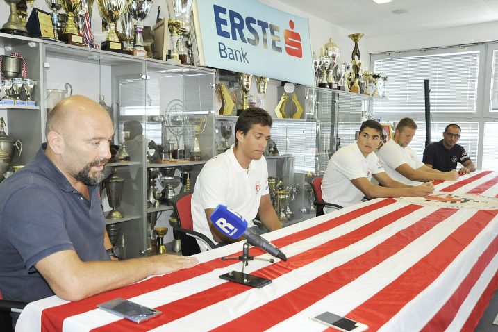Samir Barać, Ivan Vrbnjak, Marin Jovančević, Roko Jurišić i Boban Voštić/Foto S. DRECHSLER