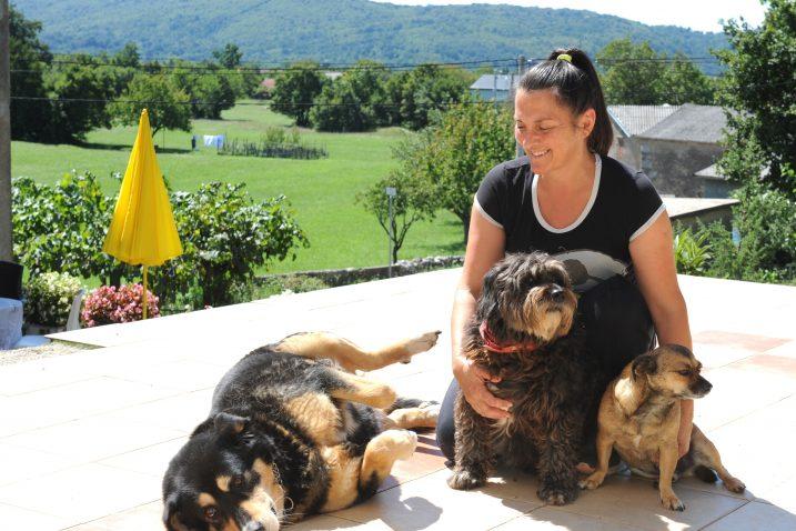 Što će drugo psi u hotelu Elizabete Brzić - Trubić nego uživati / Snimio M. GRACIN
