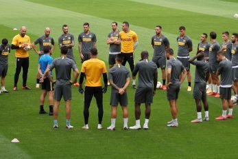 Antonio Conte s igračima Intera/Foto REUTERS