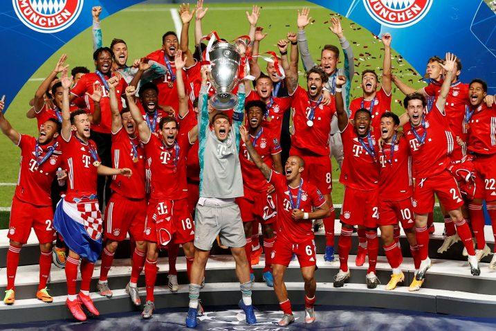 Igrači Bayerna nakon osvajanja Lige prvaka/Foto REUTERS