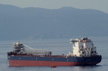 Brod »Intrepid« je baš kao i »Innovator« opremljen uređajem za brzi iskrcaj tereta / Foto M. GRACIN