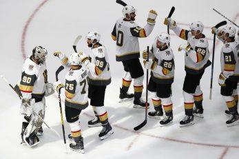 Slavlje Vegas Golden Knightsa/Foto REUTERS