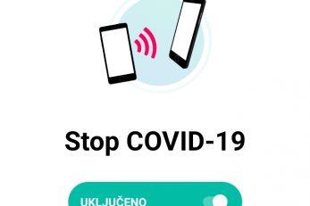 Aplikacija Stop Covid-19