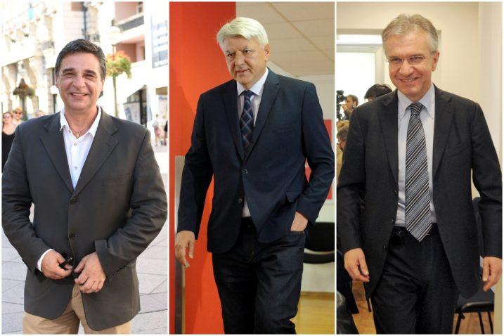 Erik Fabijanić, Zlatko Komadina i Rajko Ostojić