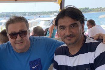 Veljko Došen i Zlatko Dalić