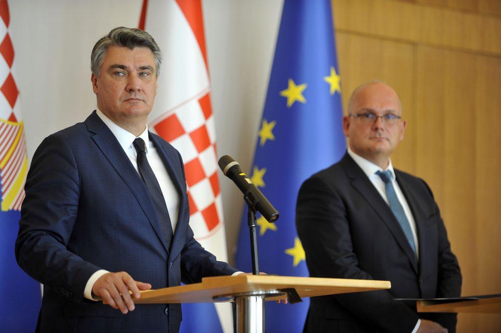 Zoran Milanović i Julije Domac / Snimio Davor KOVAČEVIĆ