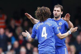 Branislav Ivanović i David Luiz/Foto REUTERS