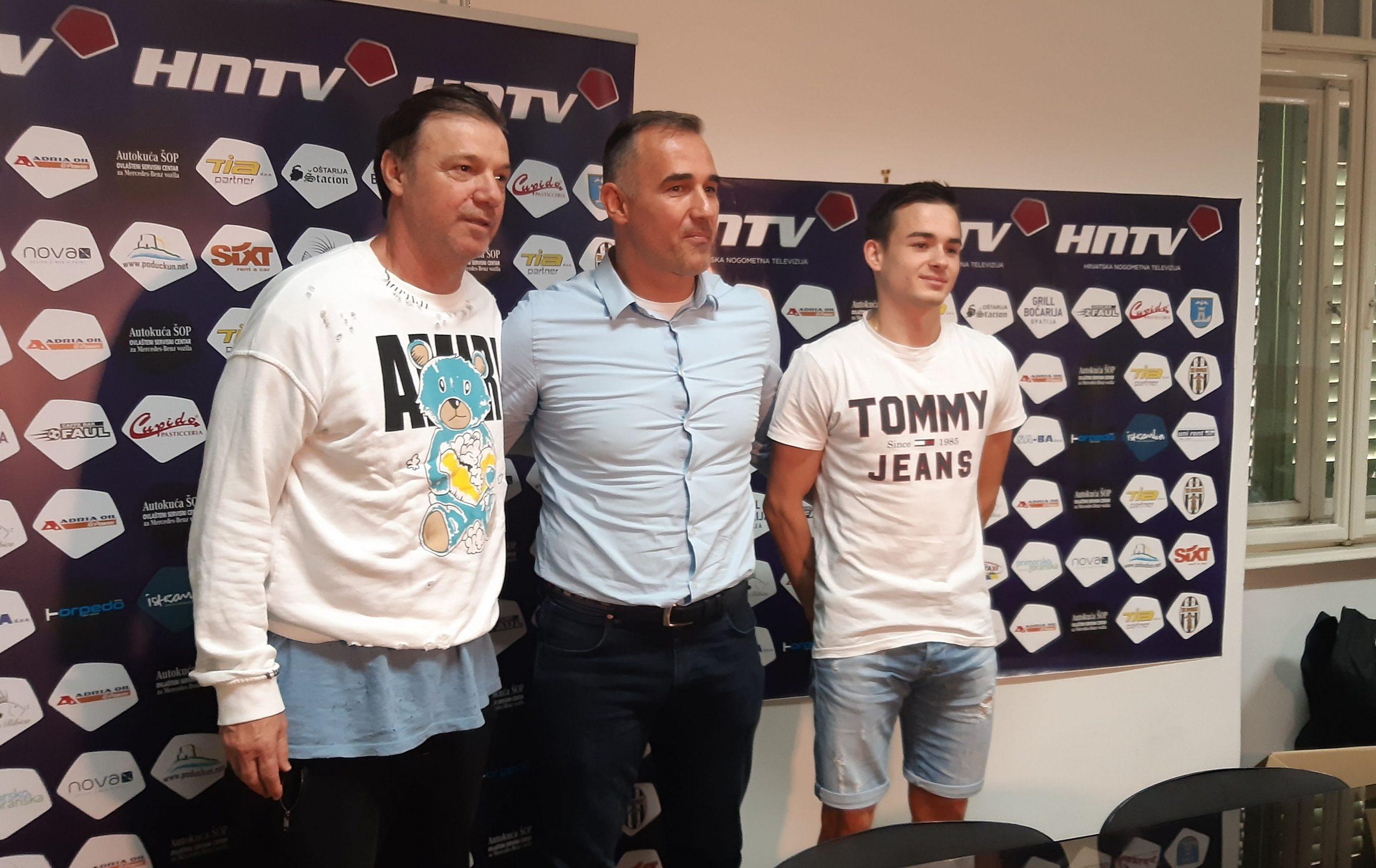 Zoran Bogolin, Robert Perčić i Matija Matulja/I. VOLARIĆ