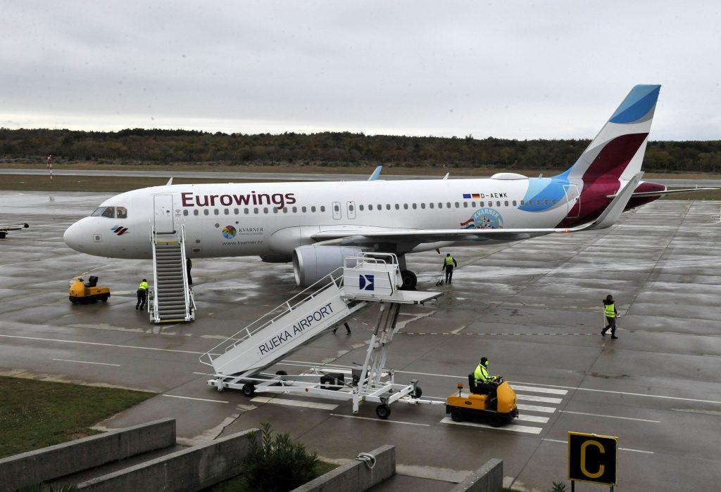 Eurowings u kolovozu ima pet linija s Krka, evo i kojih
