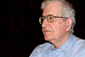 Noam Chomsky / Snimio Damir ŠKOMRLJ