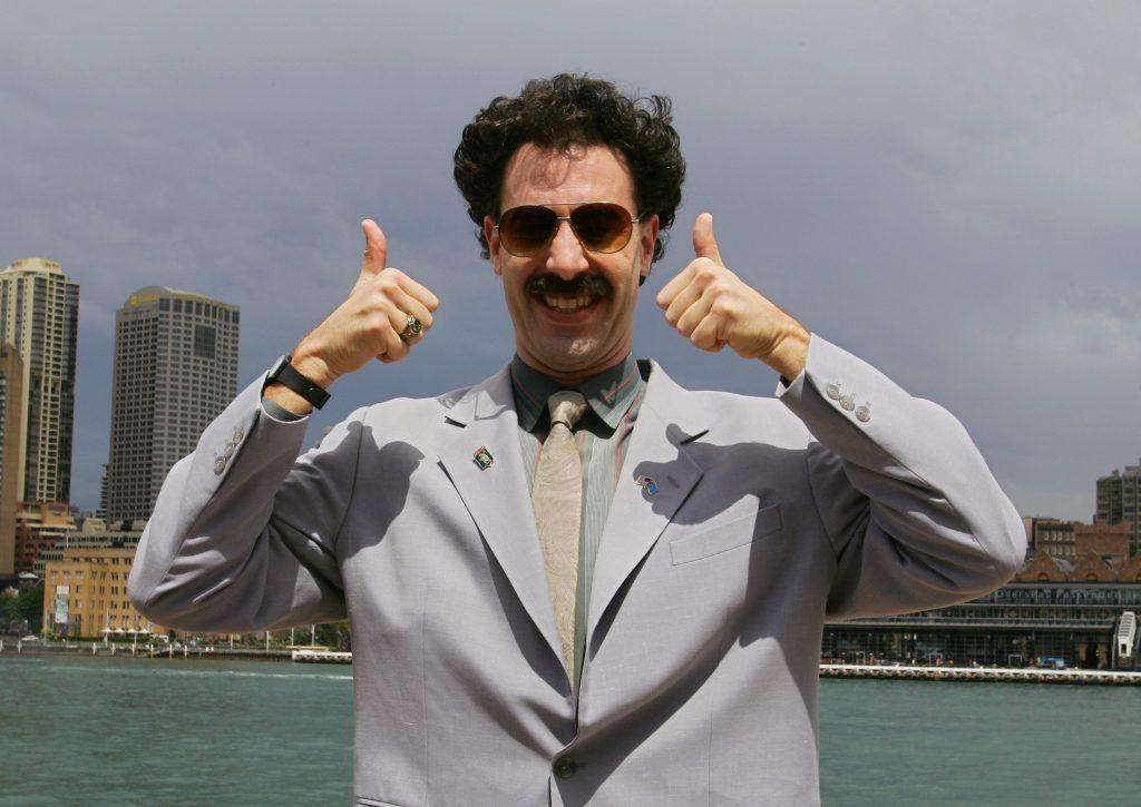 Stiže novi nastavak filma Borat s vrlo dugačkim naslovom: U fokusu odnos Trumpa i Jeffreyja Epsteina