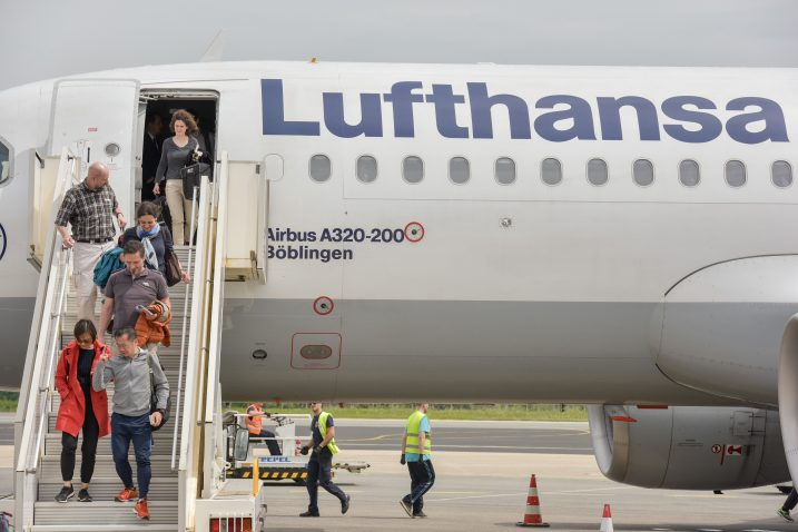 Lufthansa / Foto Dino Stanin/PIXSELL