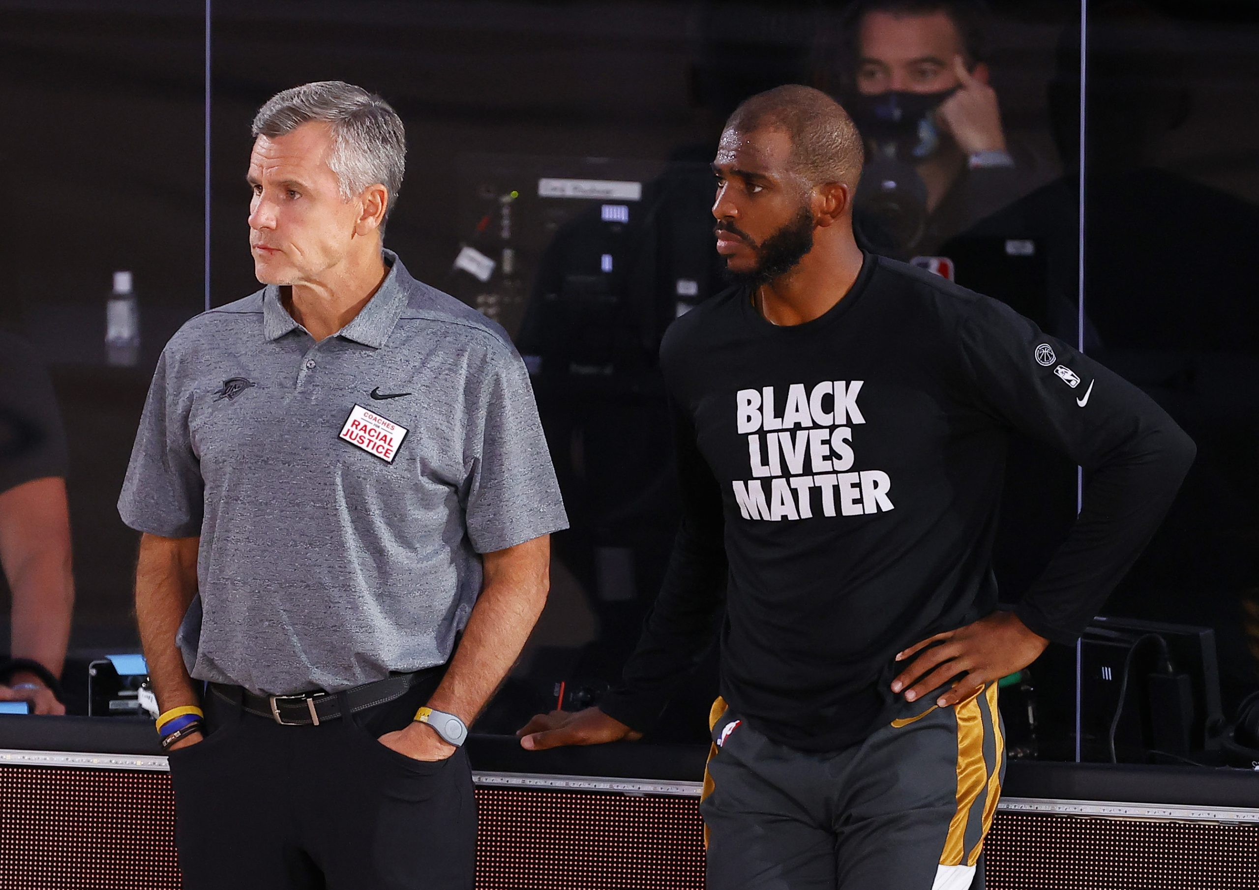 Billy Donovan i Chris Paul/Foto REUTERS