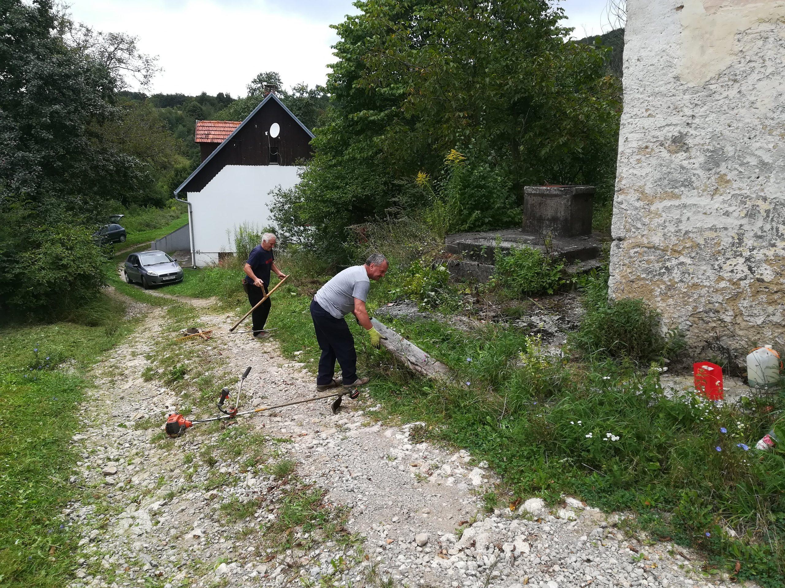 MO Moravice nastavlja s akcijama te očekuje pomoć Grada i PGŽ-a / Foto MO MORAVICE