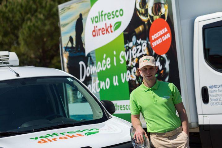 Jednostavno, brzo i povoljno - Valfresco Direct dostava štedi vrijeme za nabavku hrane i kućnih potrepština / Foto VALAMAR