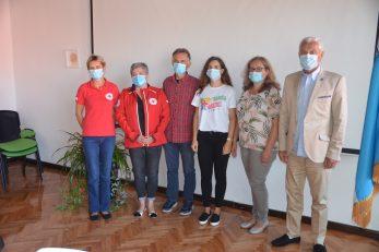Program su predstavili Snježana Krizmanić, Silvana Cindrić, Josip Brozović, Helena Bolf, Katarina Mihelčić i Ivica Knežević / Foto Marinko KRMPOTIĆ