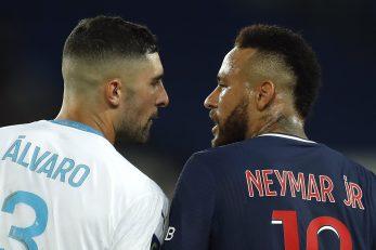 Alvaro Gonzalez i Neymar/Foto REUTERS