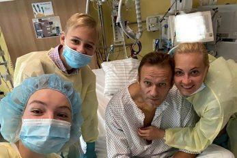 Aleksej Navaljni s obitelji / Reuters