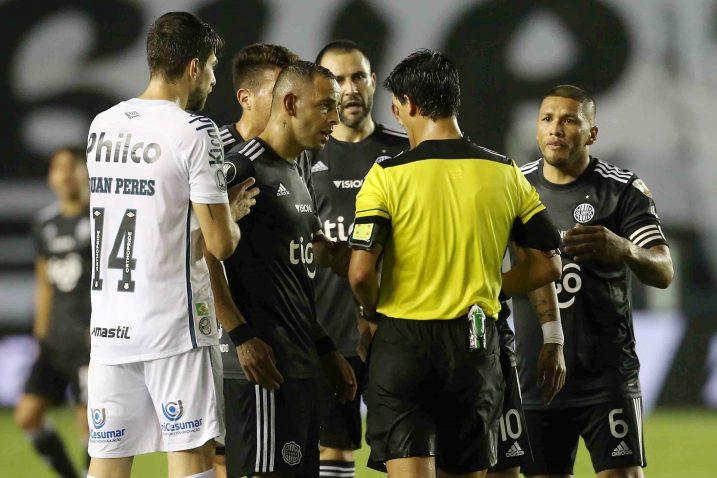 Detalj s utakmice Santosa i Olimpije/Foto REUTERS