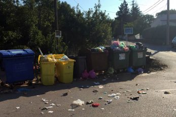 U ljetnim mjesecima napučena krčka naselja Skrpčići i Pinezići su zbog neodgovornih pojedinaca često nalikovala pravim smetlištima / Foto Ponikve eko otok Krk
