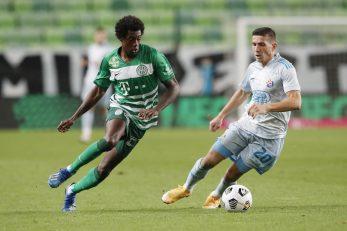Somalia (Ferencvaroš) i Lirim Kastarati (Dinamo)/Foto REUTERS