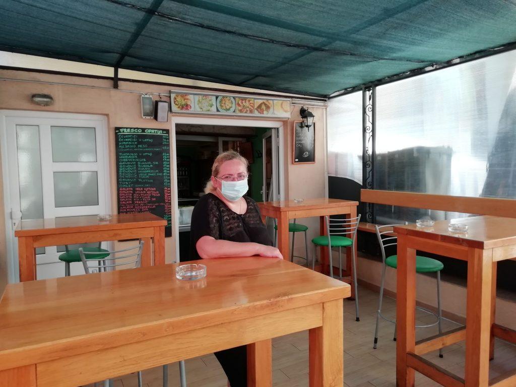 Vlasnica restorana brze hrane Fresco Marina Vižintin / Foto M. ŠUMBERAC