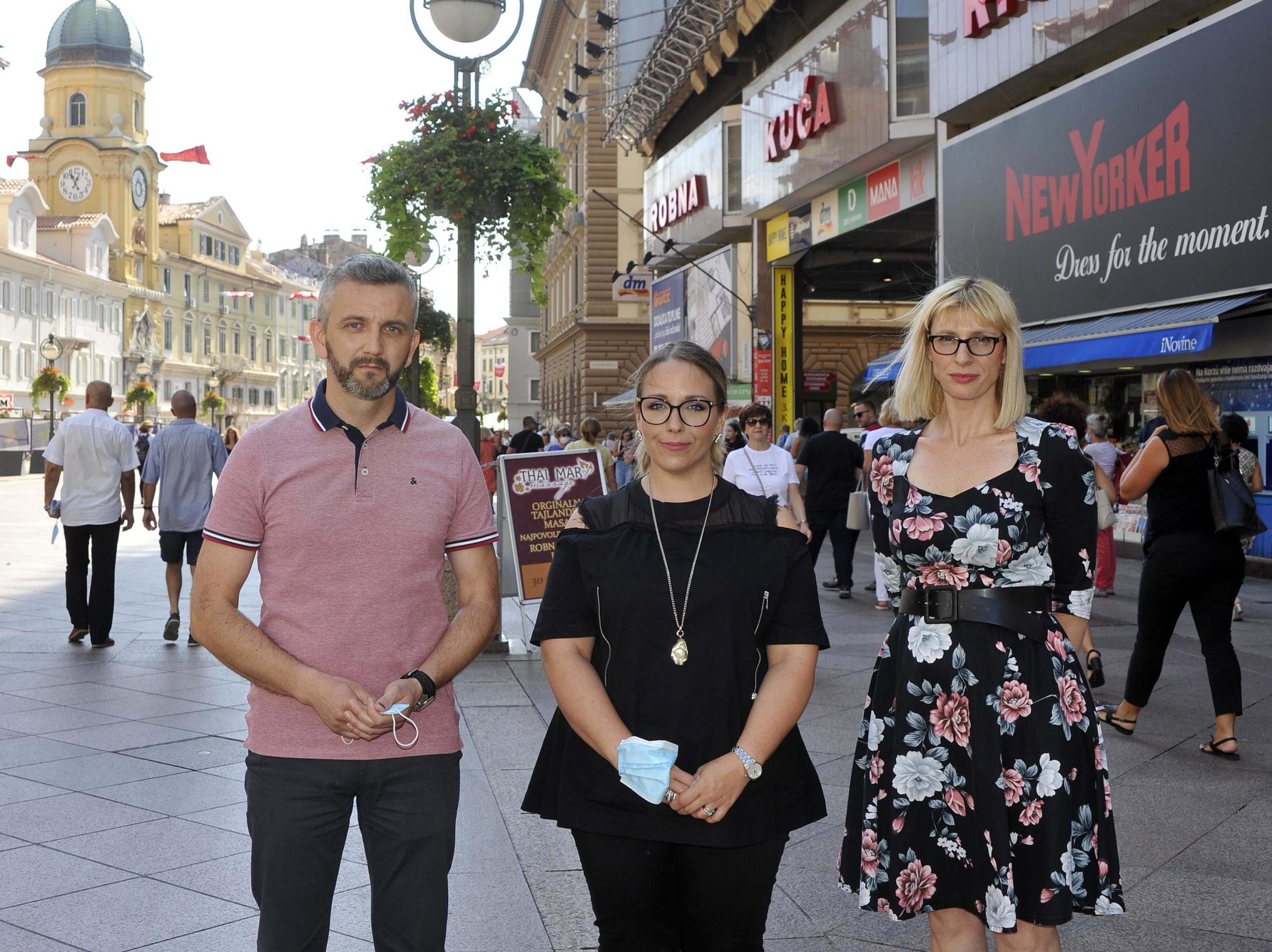 Dario DOBRILOVIĆ, Jana SERTIĆ i Maja KORDIĆ SEKULIĆ Foto Damir ŠKOMRLJ