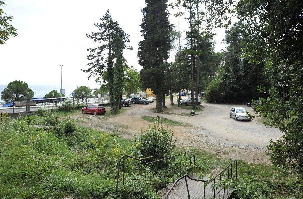 Područje na kojem se nekad nalazila bolnica u Ičićima / Snimio Sergej DRECHSLER