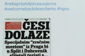 Izložba tweetova HGSS-a / Snimio Darko JELINEK