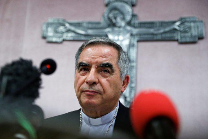 Kardinal Giovanni Angelo Becciu / Reuters