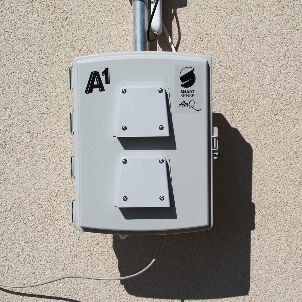 Tehničko rješenje mjerne stanice za kvalitetu zraka nastalo je u suradnji A1 Hrvatske i IT tvrtke Smart Sense