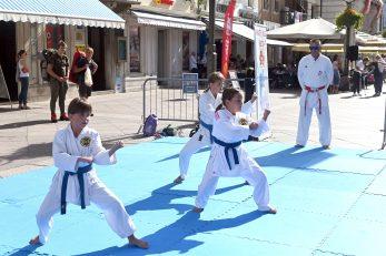Podizanje olimpijske zastave na Korzu povodom Olimpijskog dana i prezentacija sportova / Foto V. KARUZA