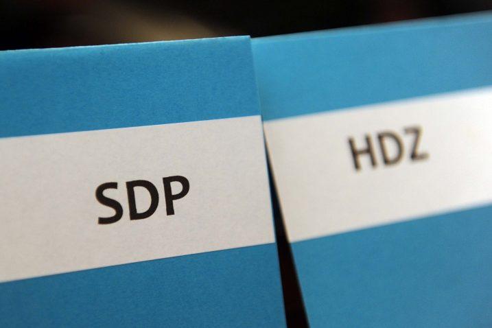 Razina popularnosti HDZ-a nema apsolutno nikakve veze s nesposobnošću SDP-a / Foto Vedran KARUZA