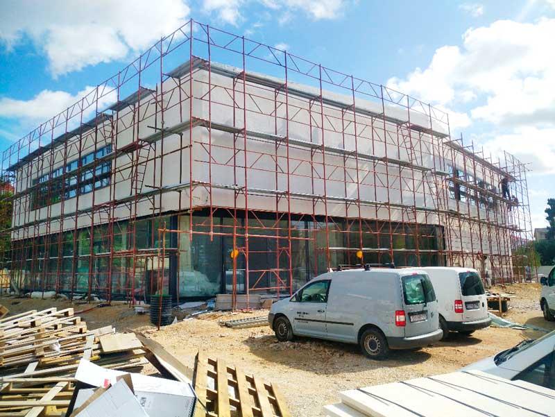 U Novalji pri kraju izgradnja Kulturnog centra Gozdenica, kapacitet dvorane bit će 210 sjedećih mjesta