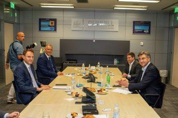 Predstavnici Vlade nedavno su se susreli s predstavnicima BAT-a / Foto: Srecko Niketic/PIXSELL