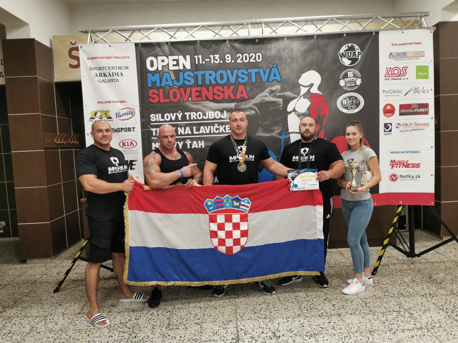 Natjecanje u powerliftingu u Slovačkoj / Foto PLK Rux