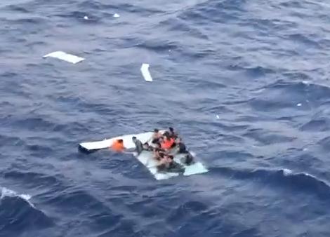 Spašavanje migranata na Kreti / Screenshot